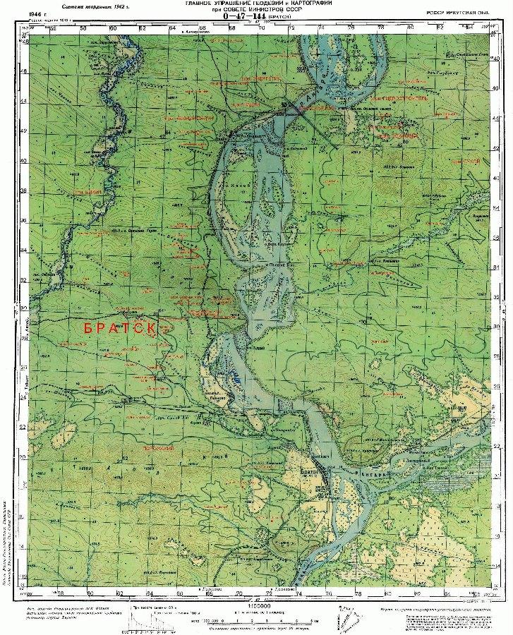 карта братского района скачать бесплатно - фото 9
